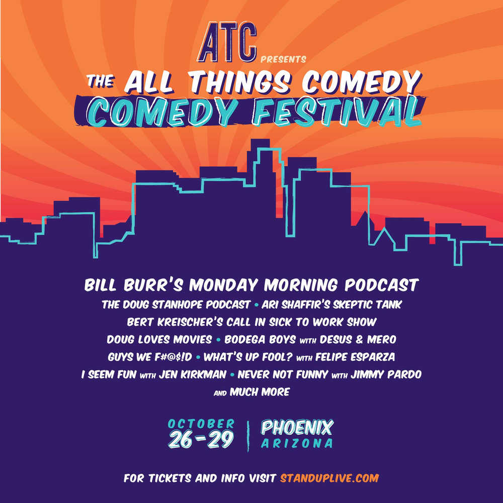 #12.41 The Live From The All Things Comedy Festival Episode